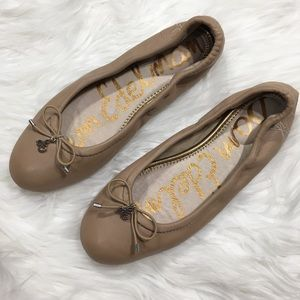 NEW Sam Edelman Felicia Nude Ballet Flats